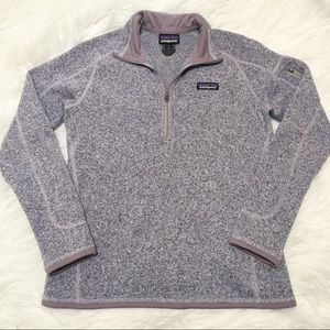 Patagonia Better Sweater Fleece Pullover Lavender
